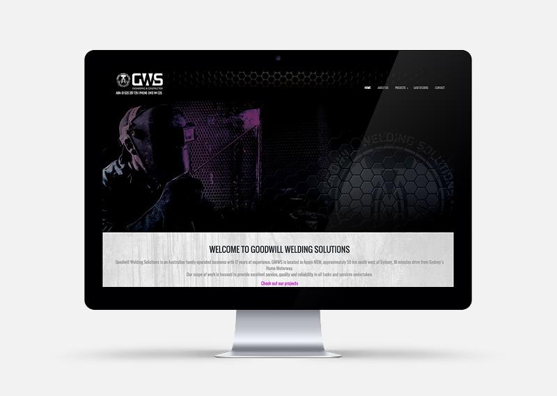 GWS Website Screen