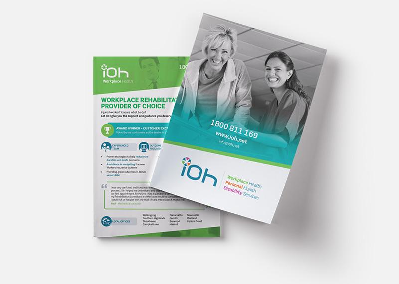 IOH A5 Flyer