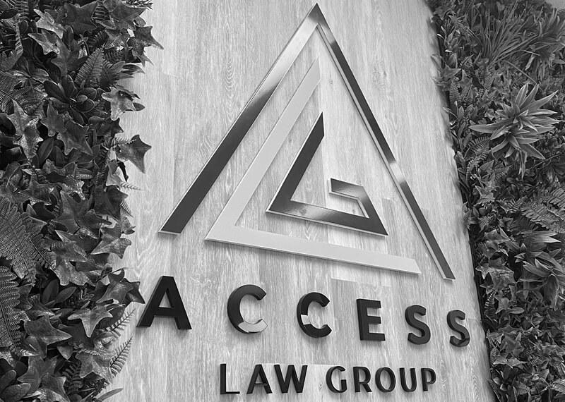 ALG Office Logo Sign