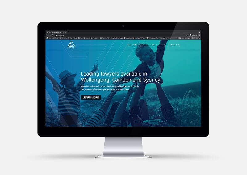 ALG Website Screen