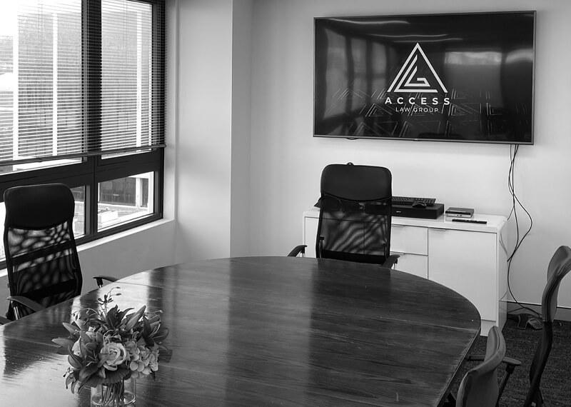 ALG TV Boardroom Screen