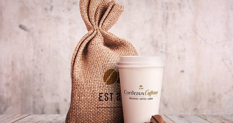 Cordeaux Caffeine Coffee Branding